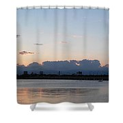 Sunset At The Lake7 Shower Curtain