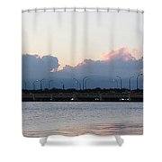 Sunset At The Lake8 Shower Curtain