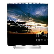 Sunset At The North Rim Shower Curtain