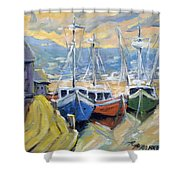 Sunset Bay Shower Curtain