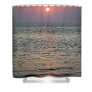 Sunset Beach Cape May New Jersey Shower Curtain
