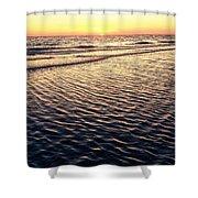Sunset Beach In Florida Paradise Shower Curtain