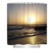 Sunset Beauty Shower Curtain