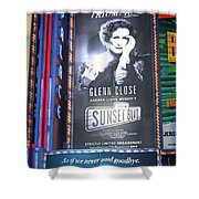 Sunset Boulevard On Broadway Shower Curtain