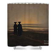 Sunset Brothers Shower Curtain