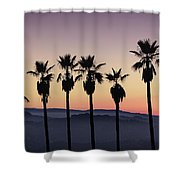 Sunset By La Shower Curtain