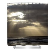 Sunset By The Sea Photograph Shower Curtain