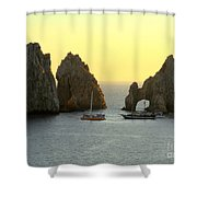 Sunset Cabo 4 Shower Curtain