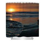 Sunset Capture Shower Curtain