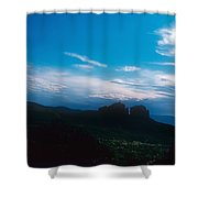 Sunset Cathedral Rock Sedona Arizona Shower Curtain