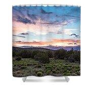 Sunset Cerillos Shower Curtain