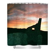 Sunset Chaco Canyon Shower Curtain