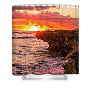 Sunset Cliff Shower Curtain