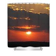 sunset CLO 108 Shower Curtain