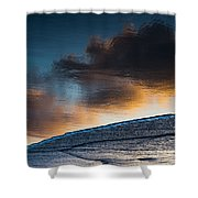 Sunset Clouds Reflect Shower Curtain