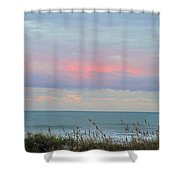 Sunset Colors To The South Shower Curtain