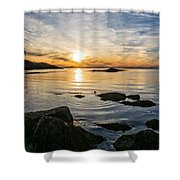 Sunset Cove Gloucester Shower Curtain
