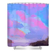 Sunset Cove  Shower Curtain