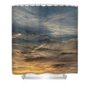 Sunset Creve Coeur Lake St Louis Mo 1x2 Ratio Img_5073 Shower Curtain