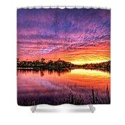 Sunset Culpeper Va Shower Curtain