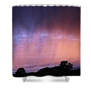 Sunset Curtain Shower Curtain