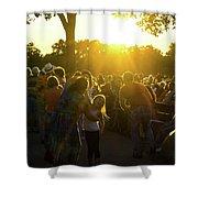 Sunset Dancing Shower Curtain