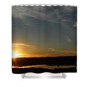 Sunset Dawn Shower Curtain