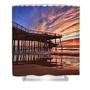 Sunset Drama Shower Curtain