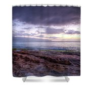 Sunset Dream Shower Curtain by Break The Silhouette