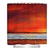 Sunset Dreamin Shower Curtain