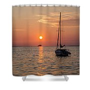 Sunset Dreams - Florida Shower Curtain