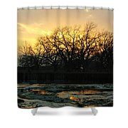 Sunset Falls Shower Curtain