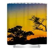 Sunset Fantasy Shower Curtain