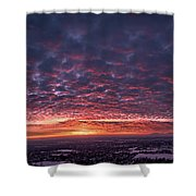 Sunset For Days Shower Curtain