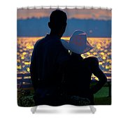 Sunset For Two Shower Curtain