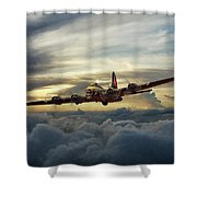 Sunset Fortress Shower Curtain