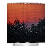 Sunset From Bear Path Shower Curtain