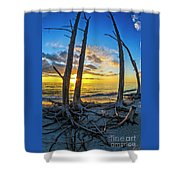 Sunset From Lovers Key, Florida Shower Curtain