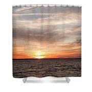 Sunset Gate 17 2 Shower Curtain