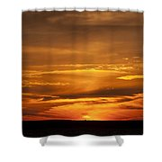Sunset Gate 17 Shower Curtain