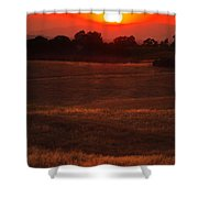 Sunset Gate Shower Curtain