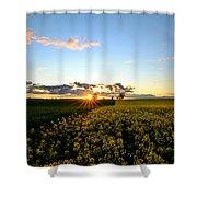 Sunset Glory Shower Curtain