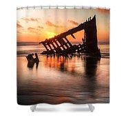 Sunset Glow 0016 Shower Curtain