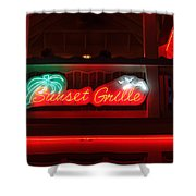 Sunset Grille Shower Curtain