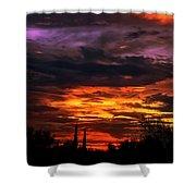 Sunset H16 Shower Curtain