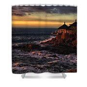 Sunset Hdr Shower Curtain