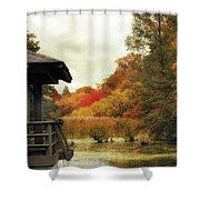 Sunset Horizon Shower Curtain