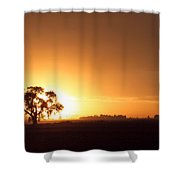 Sunset In Arizona Shower Curtain