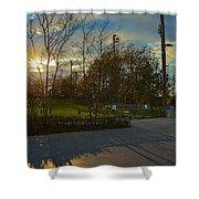 Sunset In Brooklyn  Shower Curtain