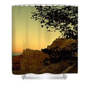 Sunset In Bryce Canyon Shower Curtain